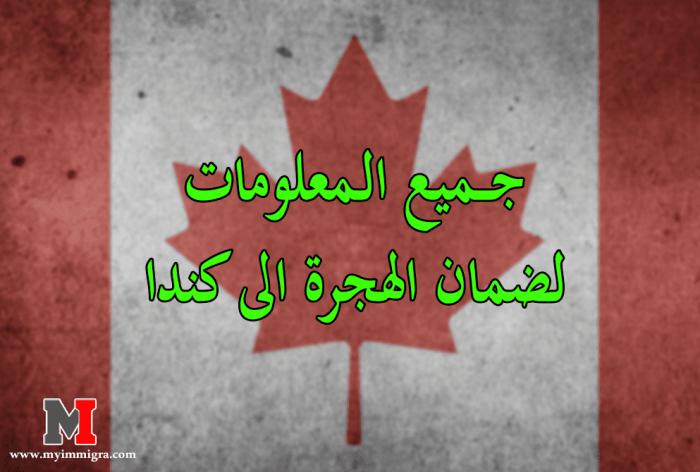 الهجرة الى كندا : جميع المعلومات الضرورية لضمان الهجرة الى كندا بسهولة